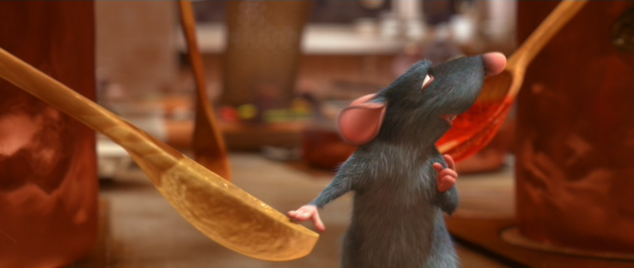Ratatouille Remy Cooking Safety and the movies:...