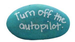 Turn off auto pilot