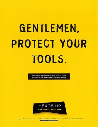 Gentlemen protect your tools
