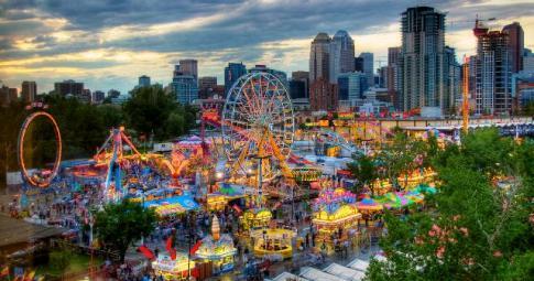 The Calgary Stampede  Image credit: festivalseekers.com